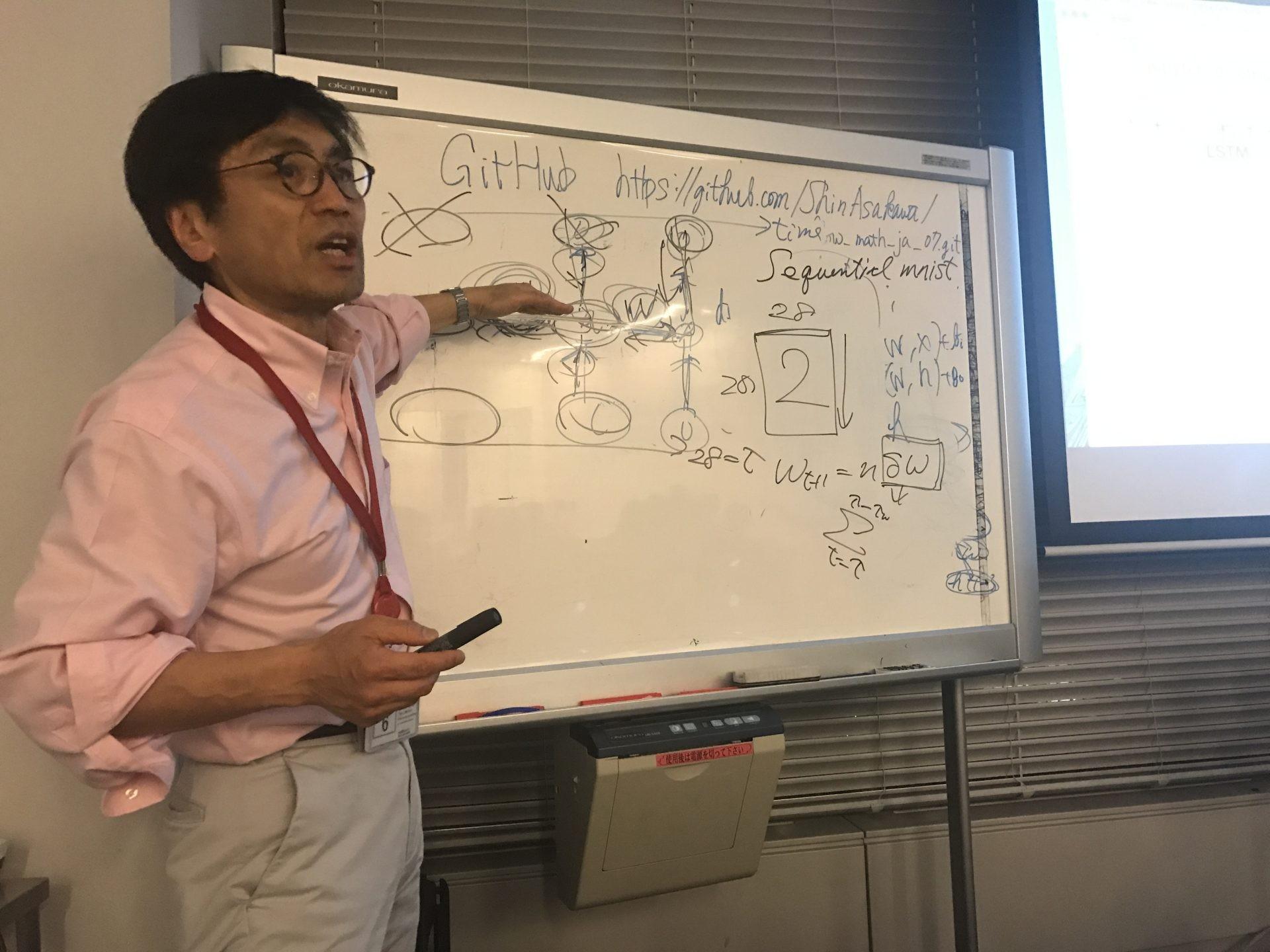 RNNの基礎だけじゃなく、Sequential Mnistにも実践!浅川先生の機械学習勉強会に参加してみた ...