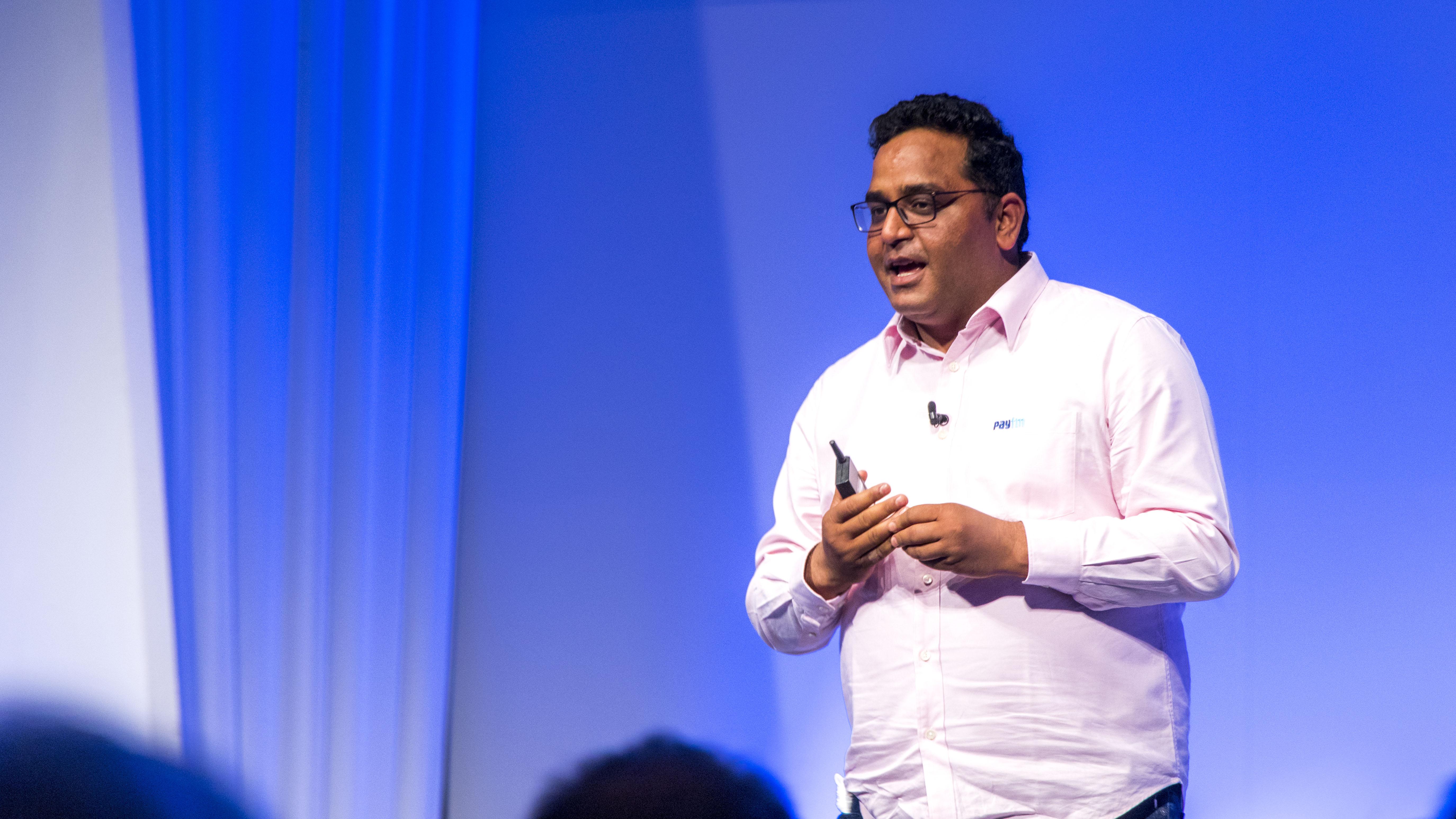 インド決済大手のPaytmのファウンダー兼CEO Vijay Shekhar Sharma 氏